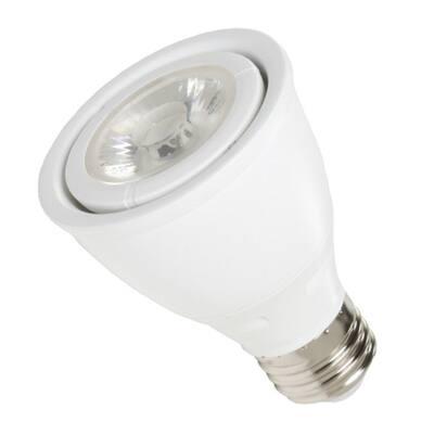 50-Watt Equivalent 7-Watt PAR20 Dimmable LED Flood White Daylight 5000K Light Bulb 83053