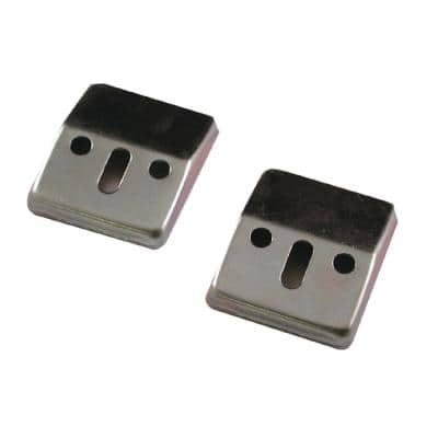 4 in. Lavatory Sink Wall Mounted Brackets (2-Pack)
