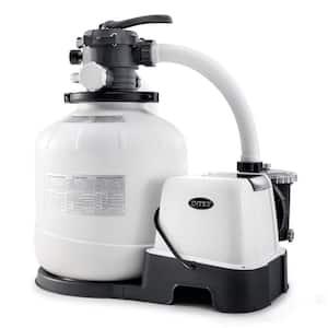 26679EG 150 GPH Krystal Clear Saltwater System and Sand Filter Pump