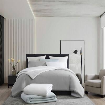 Waffle Pique Cotton Comforter Set