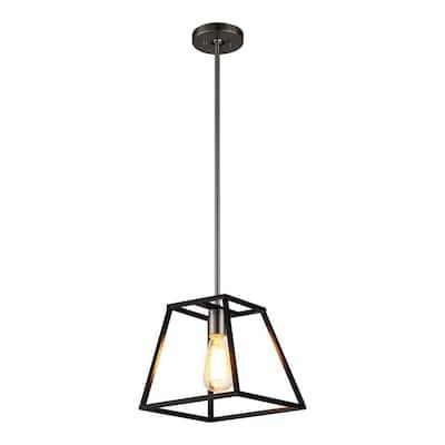 Agnes I 1-Light Black Pendant