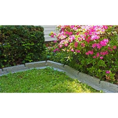 20 ft. Bedrocks TrimFree Resin Slate Lawn Edging