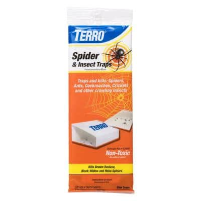 Non-Toxic Spider and Insect Trap (4-Count)