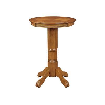 Florence Brush Oak Pub/Bar Table
