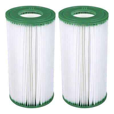 4.25 in. Dia Type III A/C Pool Replacement Filter Cartridge (2-Pack)