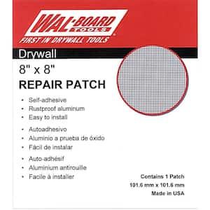 8 in. x 8 in. Drywall Self Adhesive Wall Repair Patch