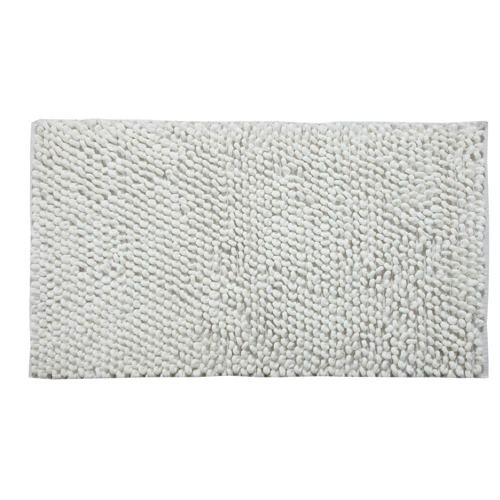 Saffron Fabs Bubbles Pattern 34 In X 21 In And 36 In X 24 In Cotton And Microfiber White Non Skid Backing 2 Piece Bath Rug Set Sfbr1331 The Home Depot