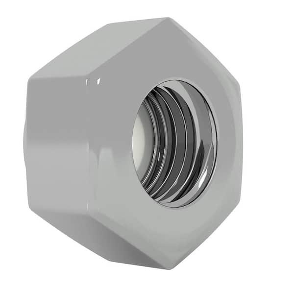 Everbilt 8 32 Stainless Steel Nylon Lock Nut 4 Pack 800101 The Home Depot