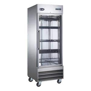 23 cu.ft. Frost Free Commercial Upright Freezer in Stainless Steel