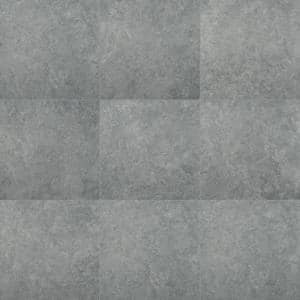 Lunar Silver 24 in. x 24 in. Matte Porcelain Floor and Wall Tile (16 sq. ft. / case)