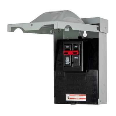 60 Amp Double-Pole AC Type NEMA 3R Disconnect Molded Case Switch