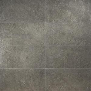 Banto Charcoal 11.81 in. x 23.62 in. Matte Porcelain Floor and Wall Tile (11.62 sq. ft. / Case)