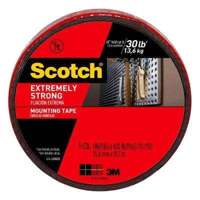 Scotch 1 in. x 11.1 yds. Permanent Double Sided Extreme Mounting Tape
