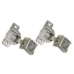 1-1/4 in. Overlay (35 mm) 110-Degree Soft-Close Face Frame Cabinet Hinge (12-Pair)