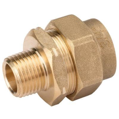 3/4 in. CSST x 1/2 in. NPT Brass Reducing Adapter