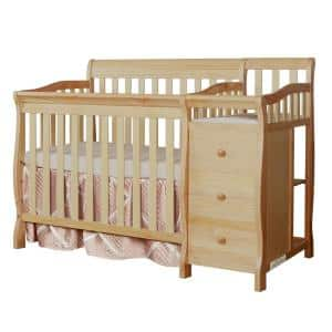 Jayden 4-in-1 Natural Mini Convertible Crib And Changer