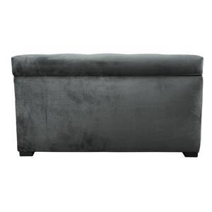 Angela MystereCosmic Button Tufted Upholstered Storage Trunk