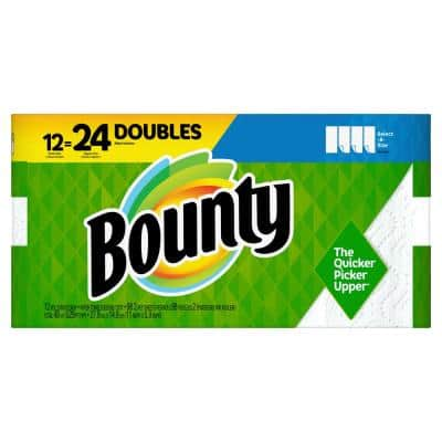 Select-A-Size White Paper Towels (12-Double Rolls) (2-Pack)