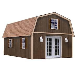 Richmond 16 ft. x 32 ft. Wood Storage Building