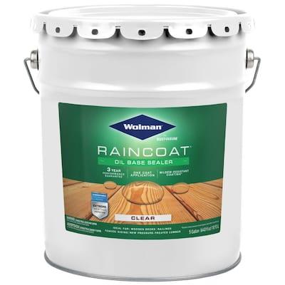 5 Gal. Raincoat Clear Oil-Based Water Repellent Sealer