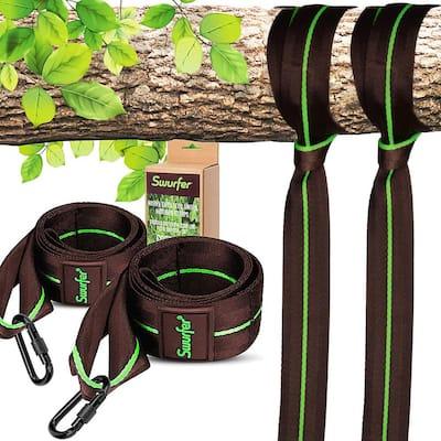 Heavy Duty 5 ft. Hammock Tree Hanging Straps Kit