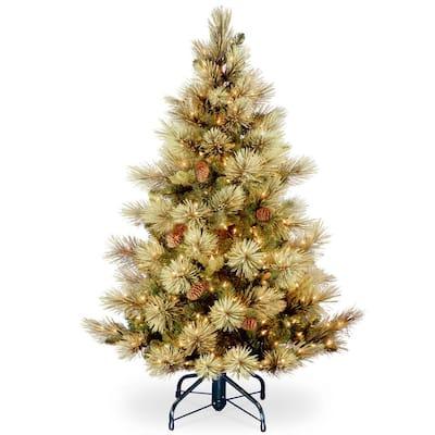 4.5 ft. Carolina Pine Tree with Clear Lights