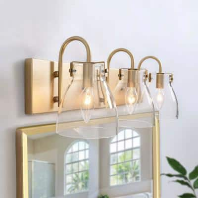Gold Vanity Lighting Lighting The Home Depot