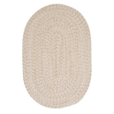 Cicero Natural 10 ft. x 13 ft. Oval Area Rug