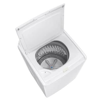 4.1 cu. ft. Capacity White Top Load Washer with Soft Closed Lid