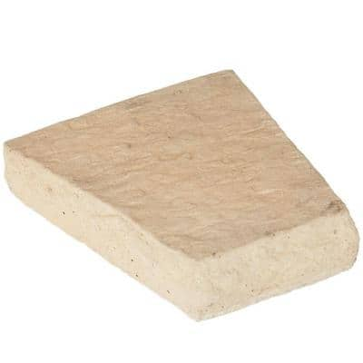 Key Stone Sand 10 in. x 7-3/4 in. x 4-3/4 in. Manufactured Stone Accessory