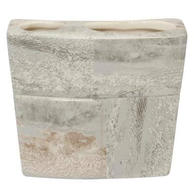 Quarry Toothbrush Holder in Stone