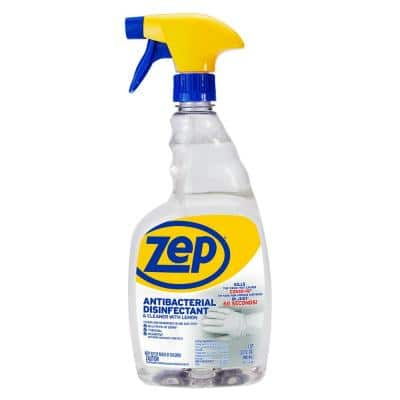 32 oz. Disinfectant Cleaner Antibacterial with Lemon