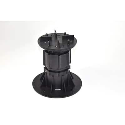 DTG-S5 5.31 in. to 8.46 in. Deck Tile Compatible Adjustable Pedestal Support (8-Pack)