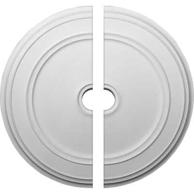 41-1/8 in. x 4 in. x 2-1/8 in. Classic Urethane Ceiling Medallion, 2-Piece (Fits Canopies up to 5-1/2 in.)