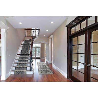Kurdamir Elegante Nightfall 26 in. x Your Choice Length Stair Runner