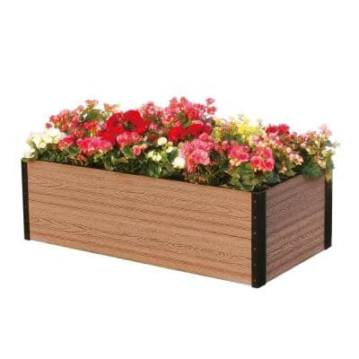 45 in. W x 24 in. D x 14 in. H Premium Deckside Garden Bed
