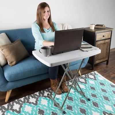 Foldable Polyethylene Table and TV Tray