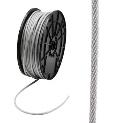 1/8 in. x 250 ft. Galvanized Vinyl Coated Steel Wire Rope