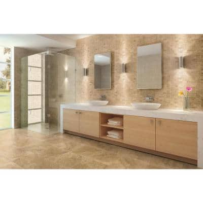 Travisano Navona 12 in. x 12 in. x 8 mm Porcelain Mosaic Floor and Wall Tile (0.969 sq. ft. / each)