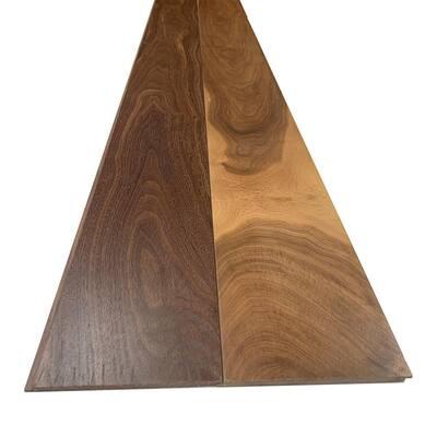 1/4 in. x 5.5 in. x 7.5 ft. UV Prefinished Walnut Shiplap Board (2-Pack)