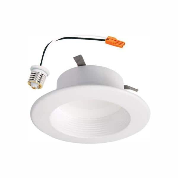 Halo 4 In Selectable Cct 2700k 5000k Integrated Led Recessed Ceiling Light Retrofit Trim Title 20 Compliant Rl4069s1ewhr Ca The Home Depot