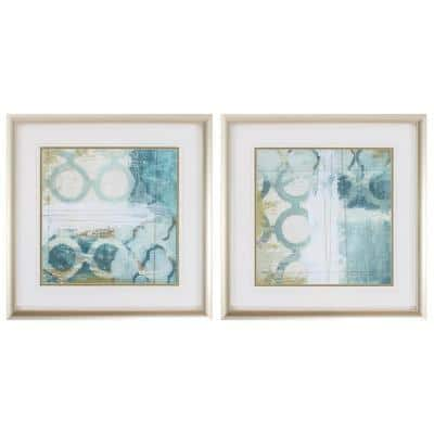 Victoria Champagne Gold Color Gallery Frame (Set of 2)