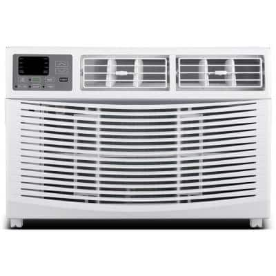 1000 - sq ft 18000 BTU Window Air Conditioner with Heat, AWH18000A, in White