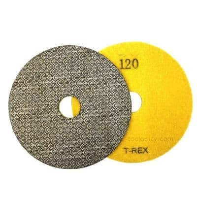 5 in. 120-Grit Electroplated Diamond Polishing Pads
