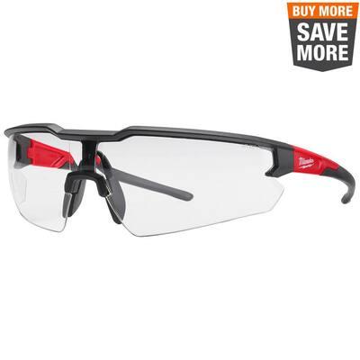 Clear Safety Glasses Fog-Free Lenses