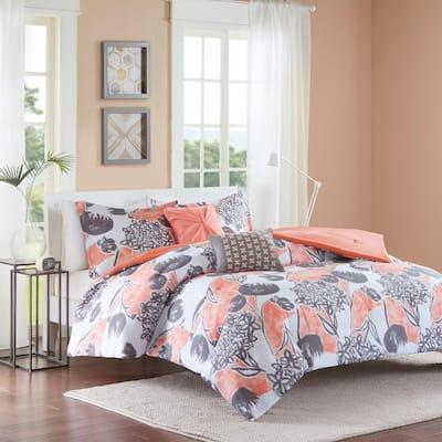 Lily Floral Comforter Set