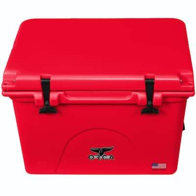 58 Qt. Cooler in Red