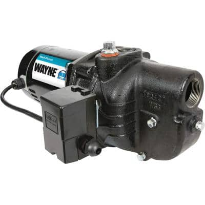 Upgraded 1 HP Cast Iron Shallow Well Jet Pump