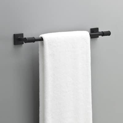 Averland 18 in. Towel Bar in Matte Black