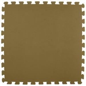 Premium Brown 24 in. x 24 in. x 5/8 in. Foam Interlocking Floor Mat (Case of 25)